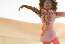 Kid Style - Girl / Child Fashion +Cool  Kid Fabric Prints