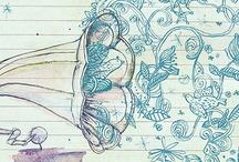 Lovely design and art / Illustration + design + art  / by Susana Alegría Zúñiga