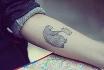 Ink on skin / Tatto + Inspiration / by Susana Alegría Zúñiga