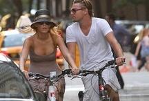 """Pedalando / """"Sotto questo sole è bello pedalare"""": lo sanno anche vip e celebrità  Celebrities on a bike, cycling :)"""