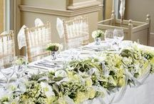 White Wedding Flowers / Keep it chic and timeless by selecting elegant white wedding flowers for sophisticated style on your big day.