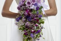 Purple Wedding Flowers / With numerous possibilities, a palette of purples offers a modern yet feminine option for your big day blooms.