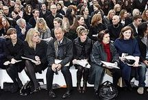 they had style, they had grace... / then anna wintour took her place.  the eds, contrib, eds, then and now, here and there of vogue, bazaar, assorted pubs...front row denizens.