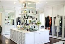 Closet Envy / My closet is not this fabulous, but a gal can dream can't she!