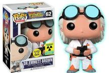 Funko POP! Movies Back to the Future™ Vinyl Figures / These figures feature everyone's favorite time travel duo in stylized form. A must for all Back to the Future fans!