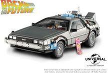 Mattel Hot Wheels Elite™ DeLorean Time Machines