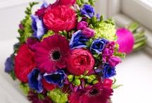 Modern Brights Weddings / A bold and beautiful colour scheme has a wonderful youthful feel and is perfect for summer weddings.