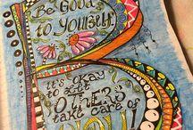 Smash Book ~ Art Journal / by Lyndsey Graham