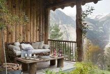 love for the mountains and its homes / Inspiration for our home in Austria