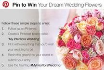 My Interflora Wedding / From bridal bouquets to buttonholes, flowers play a huge part in helping create your dream wedding, and we're giving you the chance to WIN £2000 worth of beautiful flowers for your big day.   To take part, all you need to do is follow the instructions on our competition graphic at the top of this page  For more details and full terms and conditions, please click here: http://bit.ly/1gJQVrN / by Interflora - The flower experts