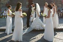 Wedding and Bridesmaid Style / Our favorite ethereal wedding gowns and bridesmaids dresses.