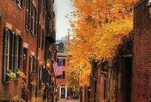 Boston's Seasons / Winter, Spring, Summer, Fall Boston has it all!  / by Boston USA