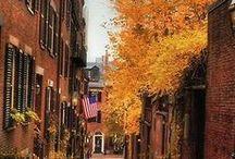 Boston's Seasons / Winter, Spring, Summer, Fall Boston has it all!  / by Boston USA