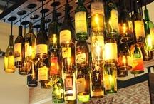Wine Bottle Lights / by Gina Copestick