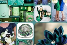 Emerald and Navy