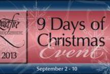 Quietfire 9 Days of Christmas card trios