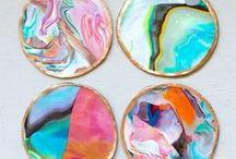 Artsy DIY's / Paintings, crafts, designs.