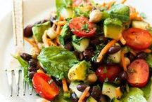 Salads of all types and Dressing! / The ultimate salad recipes board! I've got everything: side salad recipes, entree salad recipes, pasta salad recipes, quinoa salad recipes, summer salad recipes, holiday salad recipes, fruit salad recipes, potato salad recipe, copycat salad recipes, and more!