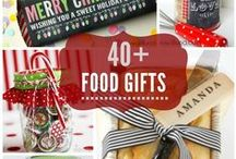 Food Gifts / Food Gifts -  perfect for holiday gifting, thank yous, or just because!  / by Jillian @ Food, Folks and Fun (foodfolksandfun.net)
