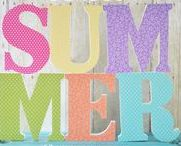 Summer Crafts, Decor & DIY / My favorite summer projects, crafts, decor, DIY & more.