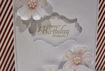 MAKING CARDS / REALLY LIKE MAKING CARDS. IT IS A REALLY CHALLENGING EXPERIENCE. / by Nancy Huntington