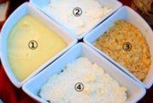 Step by Step Recipes / Recetas paso a paso