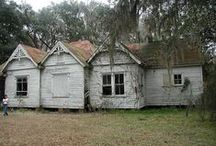 ABANDONED / WISH I HAD THE RESOURCES TO FIX UP THESE ABANDONED BUILDINGS. RESTORE THEM BACK TO THEIR BEAUTY, / by Nancy Huntington