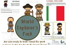 History / Educational history printables, resources, activities, and fun lesson ideas.