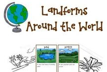 Geography / Resources, activities, printables, and ideas perfect for geography lessons.