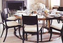 Dinning rooms / by Marie-Chantal Of Greece