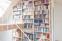 My Office/Library / If you can't tell, I'm a bit of a book addict.  I definitely want a home library in my office. / by MacKayla Testerman
