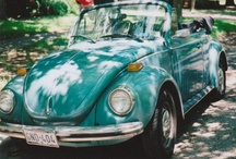 """Vintage VW Bug """"Buggy"""" / The VW Bug...classy enough for Hollywood, cool enough for the beach. / by MacKayla Testerman"""
