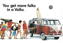 Vintage VW Bus / When most women start a family they trade their speedy little car in for a minivan.  I however, will get a VW bus. / by MacKayla Testerman
