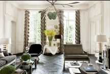 Living rooms / by Marie-Chantal Of Greece