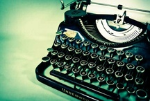 ❤ Vintage Typewriter ❤ / Laptops and Microsoft Word are great for a paper due tomorrow, but when I write a book (if I write a book), it will be on one of these beauties. / by MacKayla Testerman