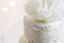 **Cake / Lace & Embossed cake / by Karmin