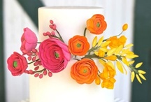 Cake / Flower cake / by Karmin