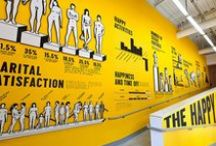 Exhibitions / Environmental graphics and wayfinding for exhibitions.