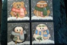 lj Creations / My decorative painted projects / by Linda Johnson