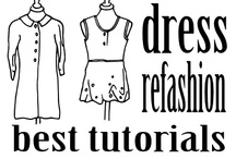 ♡ Dress refashions - group board / Board only for dress refashions. If you want to join contact me via roued.com / by Eddie's Room