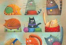 gatos / by Fraw Craw