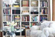 Fancy Bookshelves