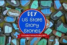 US State Studies / Find all of your US State Study activities, printables, resources, and more all right here! / by Jill {Enchanted Homeschooling Mom}