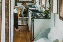 Tiny Home / So, perhaps I'm not really capable in living in a permanent home of this size...but most of these also apply to tree houses, or a forest getaway for creativity, or maybe just the Paris apartment I hope to have one day. -__- / by MacKayla Testerman