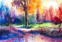 Watercolour Inspiration / by Kim Dickson Greeff