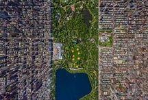 Concrete jungle ♥ / - new york city -  / by Monica Thomson
