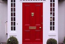 Front Door Designs / A collection of front door styles with personal style.