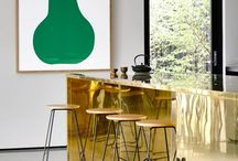 Gold Rush / Luxe finishes in gold and brass are back to add a little modern glam