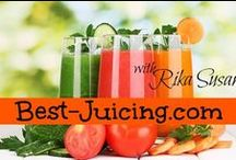 Best Juicing For Health / The best of juicing and juice recipes from Rika Susan, juicing coach at http://www.best-juicing.com and friends. Please note this community is strictly for juicing-related pins (I have another board for smoothies). Come and share your best juicing for health tips, tricks and juice recipes. No more than 3 juicing related (not smoothies!!) pins per day per member and no spam. Please ask to join this group board by dropping me a line at rika@best-juicing.com!