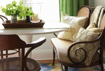 dining space / by Phyllis Howell